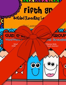 Fifth Grade Guided Reading Comprehension Strategies/ Lesson Plan Book Bundle