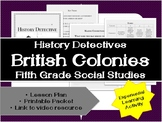 Fifth Grade History: British Colonies Unit