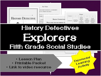 Fifth Grade History: Explorers Unit