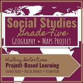 Fifth Grade History: Geography & Maps Unit