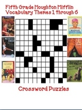 Houghton Mifflin Reading 5th Grade Crossword Puzzles Full Year