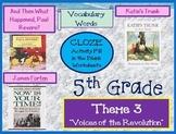 Houghton Mifflin Reading 5th Grade Theme 3 Worksheets