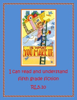 "Fifth Grade ""I Can"" Reading Posters featuring the artwork of Mary Engelbreit"