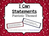 Fifth Grade 'I Can' Statements-Common Core and State Standards