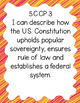 """Fifth Grade """"I Can"""" Statements for KY NEW Revised Social Studies Standards"""
