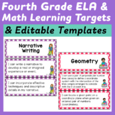 Fifth Grade I Can Statements (Common Core Learning Targets