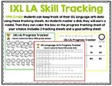 Fifth Grade IXL Language Arts Tracker