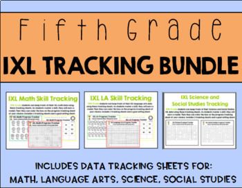 Fifth Grade IXL Tracking Bundle