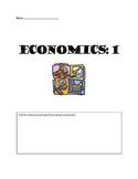 Fifth Grade Intro to Economics