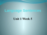 Fifth Grade Language PowerPoint McGraw Hill Wonders Unit 1 Week 5