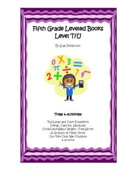 Fifth Grade Leveled Books:  Level T - Set 1