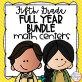 Fifth Grade Math Centers Bundle