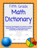 Fifth Grade Math Dictionary
