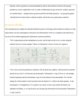 Fifth Grade Math: Dividing Whole Numbers by Fractions - Complete Lesson