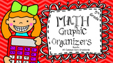Fifth Grade Math Graphic Organizers Bundle: All Common Core Standards