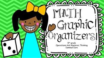 Fifth Grade Math Graphic Organizers: OA