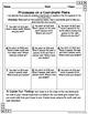Fifth Grade Math Homework Sheets for Full Year