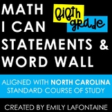 Fifth Grade Math I Can Statements - North Carolina Standar
