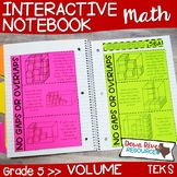 Fifth Grade Math Interactive Notebook: Volume of Rectangul