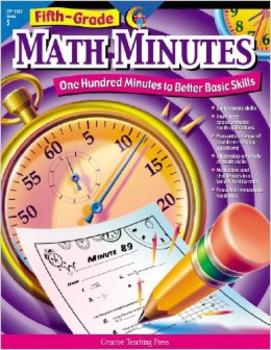 Fifth Grade Math Minutes