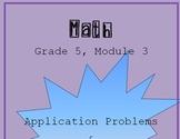 Fifth Grade - Math Module 3 Application Problems