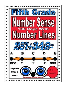 Math Number Sense Challenge Activity Game Gifted Fifth Grade