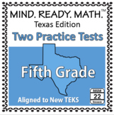 5th Grade Math TEKS Practice Tests REVISED 2017