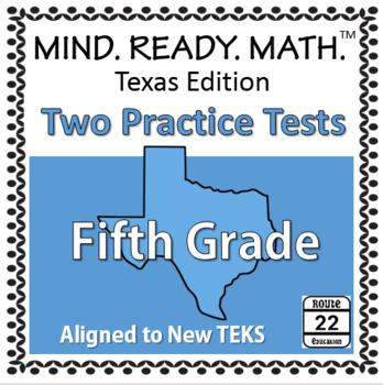 5th Grade Math TEKS Practice Tests REVISED 2017