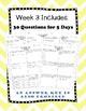 Fifth Grade Math Spiral Review, Quarter 1