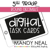 Fifth Grade Math Task Cards ~ Round Decimals