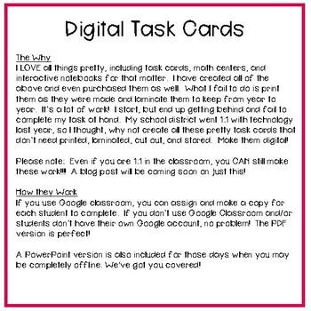 Fifth Grade Math Task Cards ~ Volume of Rectangular Prisms