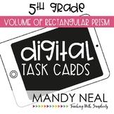 Fifth Grade Digital Math Task Cards ~ Volume of Prisms   D