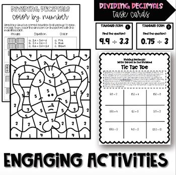 Fifth Grade Math Units 1-4 BUNDLE