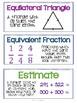 Fifth Grade Math Vocabulary