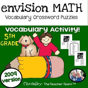 enVision Math 5th Grade Voc... by The Teacher Team | Teachers Pay ...