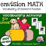 enVision Math 5th Grade Vocabulary Crossword Puzzles Topics 1-20