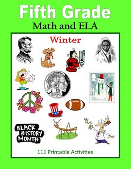 Fifth Grade Math and ELA (Winter)