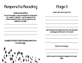 Fifth Grade McGraw-Hill Wonders Literature Anthology Booklet (Unit 2, Week 3)