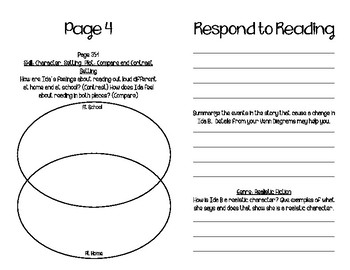 Fifth Grade McGraw-Hill Wonders Literature Anthology Booklet (Unit 5, Week 1)