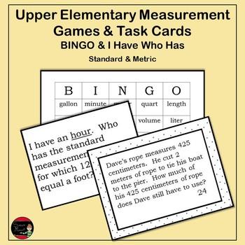 Upper Elementary Measurement Activities
