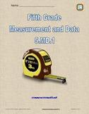 Fifth Grade Measurement and Data - NCCS Math 5.MD.1