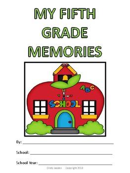 Fifth Grade Memory Album