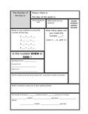 Fifth Grade Morning Worksheet
