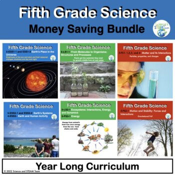 Fifth Grade NGSS Bundle for the Whole Year