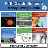 Fifth Grade Science NGSS Bundle Now in Pdf and TpT Easel Ready