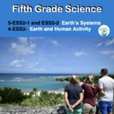 Fifth Grade NGSS  ESS2-1, ESS2-2, and ESS3-1:  Earth's Systems and Human Impact