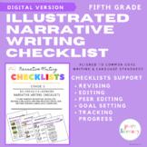 Fifth Grade Narrative Writing Checklist | Distance Learnin
