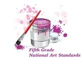 Fifth Grade National Core Art Standards Assessment Checklists