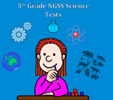 Fifth Grade Next Generation Science NGSS Assessment bundle