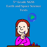 Fifth Grade Next Generation Science NGSS Earth and Space S